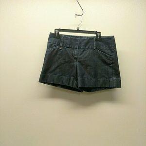 Express Shorts Cuffed Dark Wash